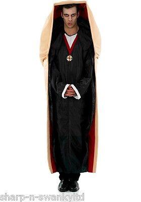Herren Vampir Im Sarg Kiste Dracula Halloween Horror Kostüm Kleid Outfit