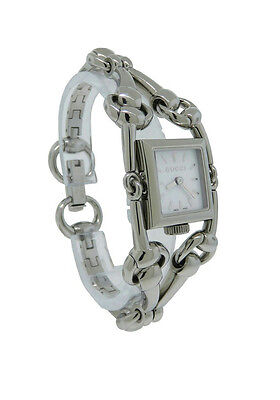 9d49acd2037 Gucci YA116501 Women s Petite Square Mother of Pearl Analog Watch
