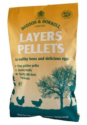 Dodson & Horrell Poultry Layers Pellets Poultry Feed 20 Kg