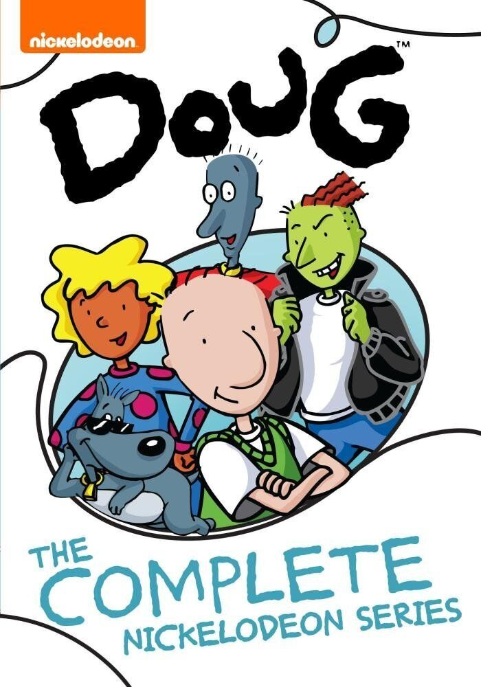 Doug ~ The Complete Nickelodeon Series ~ 52 Episodes ~ BRAND NEW 6-DISC DVD SET