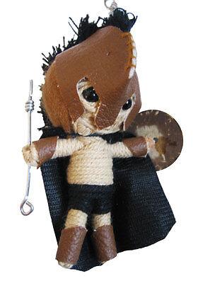 ojaner Gladiator Schlüsselanhänger Voodoopuppe Talisman 300 (Trojan Krieger)