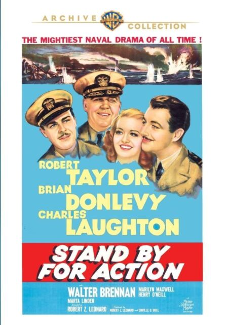 STAND BY FOR ACTION - (1942 Robert Taylor) Region Free DVD - Sealed