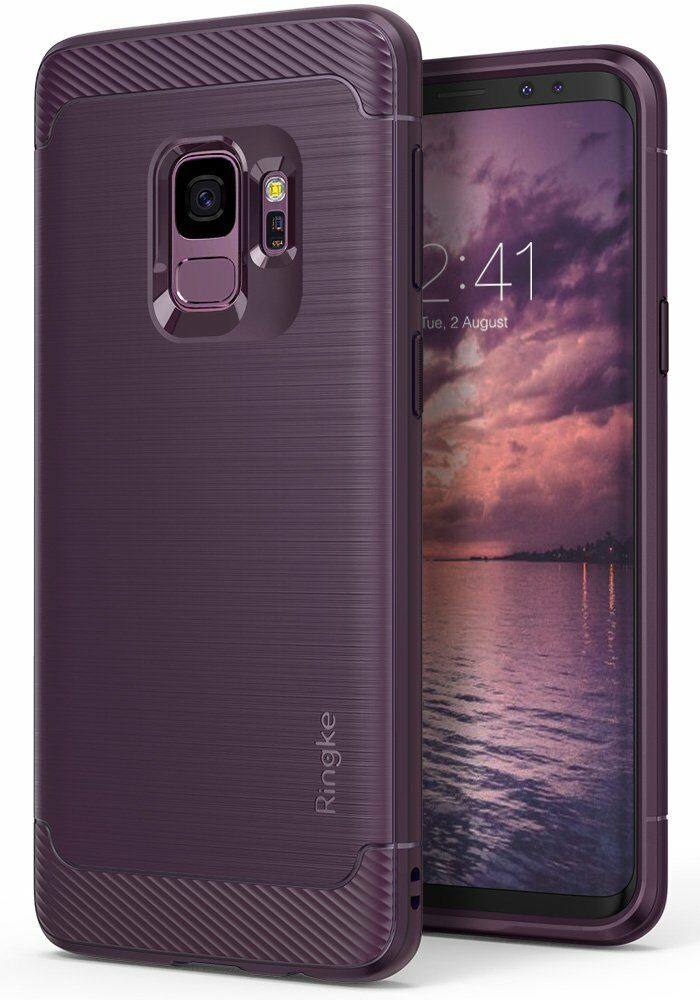 For Galaxy Note 9/S9/S9 Plus   Ringke [ONYX] Flexible TPU Protective Cover Case