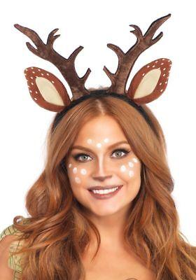 Reh Haarreif Geweih und Ohren Leg Avenue Rehkitz - Bambi Kostüm Ohren