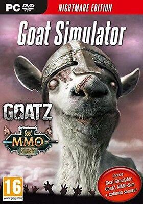 Goat Simulator Nightmare Edition Pc 100  Brand New