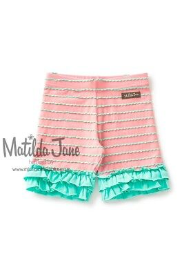 Girls Matilda Jane Adventure Begins Kick Ball Shorties Shorts Size 8 NEW - Girls Kick Balls