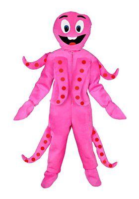 Krake pink Einheitsgrösse L - XL Kostüm Oktopus - Oktopus Kostüm