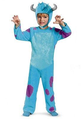 Monsters University Sulley Costume Blue Sully Toddler Disney Boys Kids Monster U (Monster University Costume)