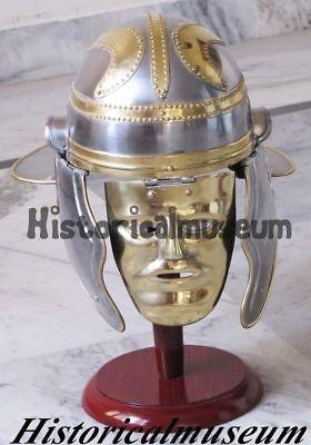 Helm Gesichtsmaske Reenactment Party Halloween (Gladiator Helm, Halloween)