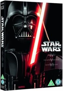 Star Wars - The Original Trilogy     3-Disc Set,     new        Fast  Post