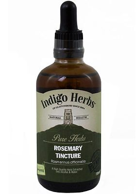 Rosemary Tincture - 100ml - (Quality Assured) Indigo Herbs