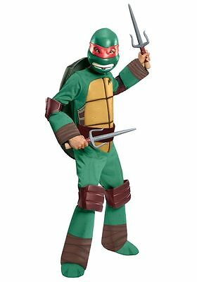 Raphael Teenage Mutant Ninja Turtles Costume(Dlx) for Toddler size 2-4 by Rubies](Ninja Turtle Costume For Toddler)