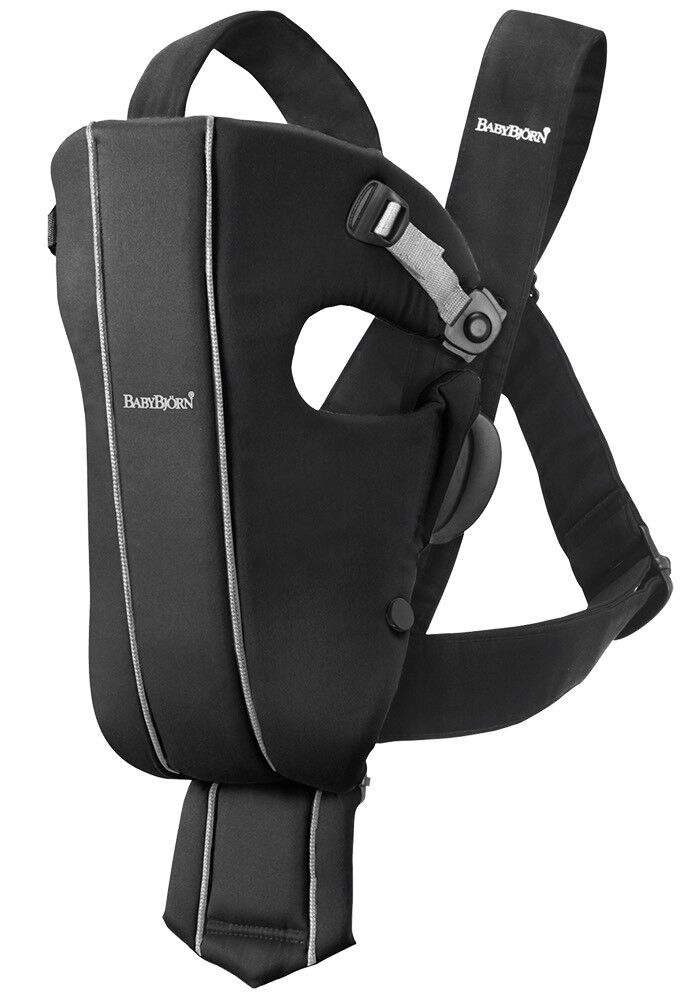 Baby Bjorn baby carrier and cover