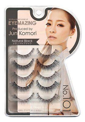 Ginza cosmetic lab EYEMAZING Jun Komori series false eyelashes NO.101 From Japan
