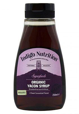 BIO Yacon Sirup - 250ml - (Hochgradige) Indigo Herbs