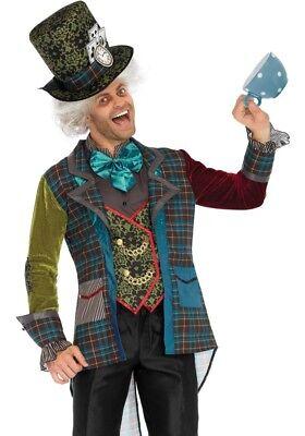 Mad Hatter Herren Kostüm von Leg Avenue Verrückter Hutmacher Alice im - Mad Alice Im Wunderland Kostüm