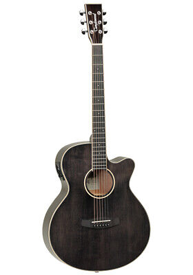 MINT CONDITION,FABULOUS  BLACK SHADOW GLOSS ELECTRO ACOUSTIC GUITAR RRP £349.00