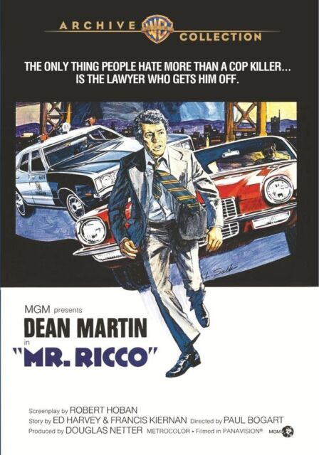MR RICCO - (1975 Dean Martin) Region Free DVD - Sealed