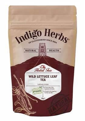 Indigo Herbs Wild Lettuce Leaf Tea 50g Loose Leaf Lactuca virosa