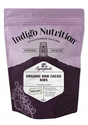 Organic Cacao Nibs - 500g - Indigo Herbs