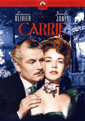 CARRIE DVD  Laurence Olivier Jennifer Jones Miriam Hopkins DRAMA Brand New UK R2