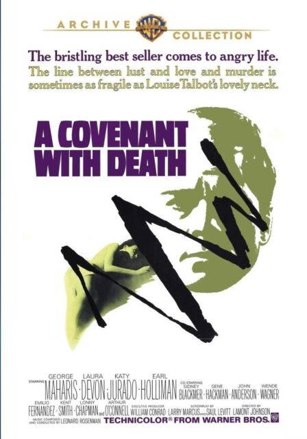 COVENANT WITH DEATH - (1967 George Maharis) Region Free DVD - Sealed