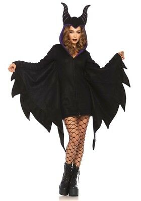 Damen-Kostüm Leg Avenue - Cozy Villain Maleficent - Teufel Bösewicht Comic Hexe