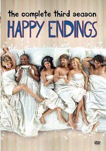 HAPPY ENDINGS: COMPLETE THIRD SEASON 3 -   Region Free DVD - Sealed