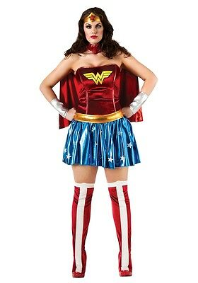 Wonder Woman Adult Womens Plus Size Costume, Rubies, 17440 ()