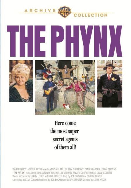 PHYNX - (1970 Dennis Larden) Region Free DVD - Sealed