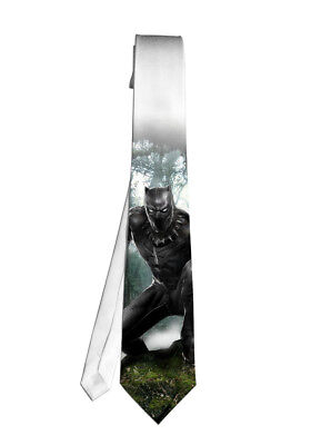 Black Panther Marvel Popular Necktie Neck Tie Anime Manga Cosplay Gift