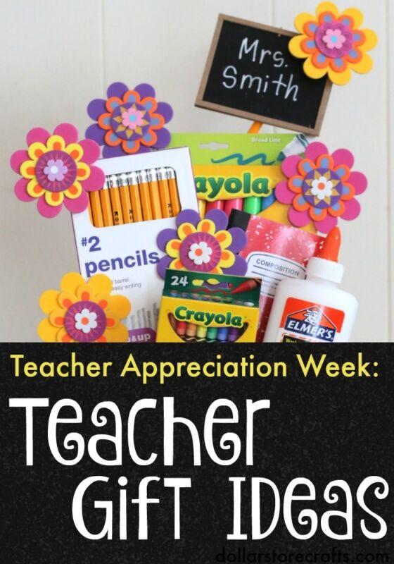 Teacher Appreciation Gift Ideas: Great for Back-To-School or Teacher Appreciation Week