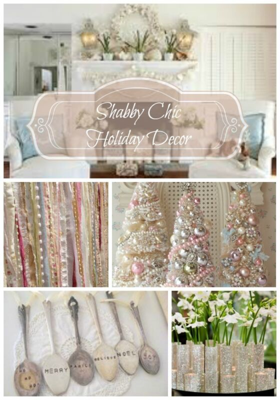 Diy Shabby Chic Holiday Decor On A Budget Ebay