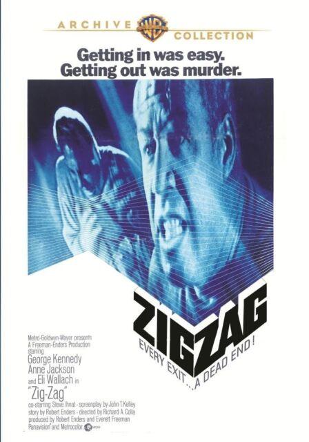 ZIG ZAG - (1970 George Kennedy) Region Free DVD - Sealed