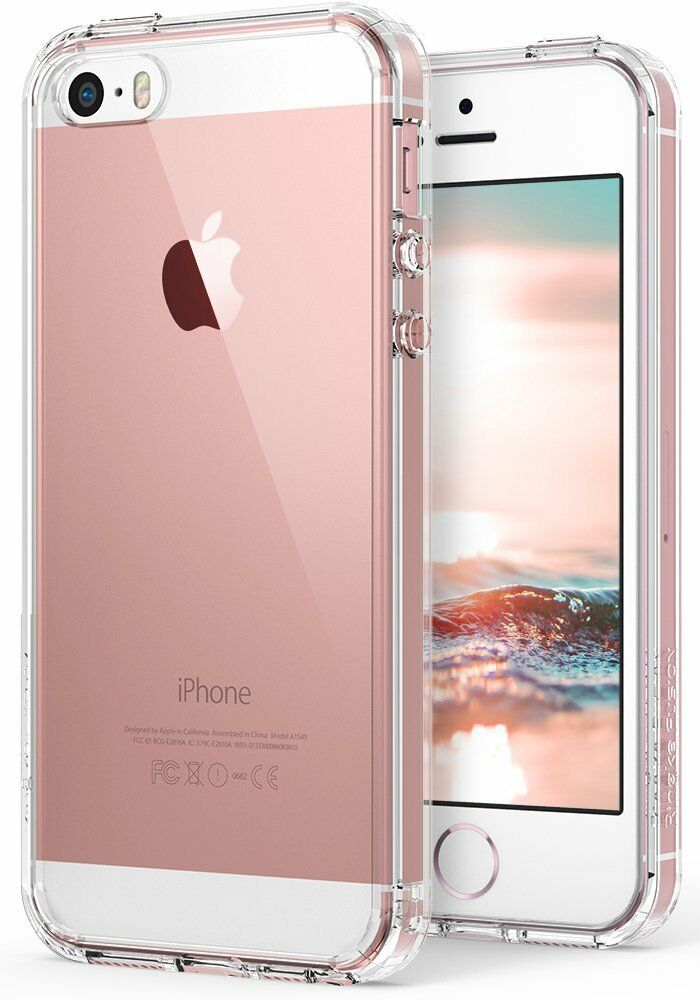 Купить For Apple iPhone SE 5S | Ringke [FUSION] Clear Shockproof Protective Cover Case