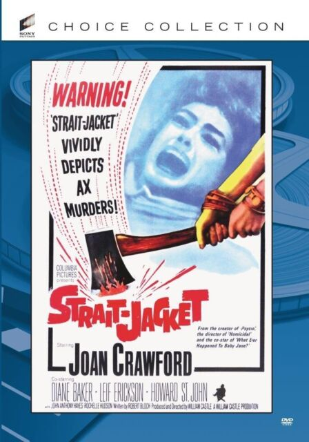 STRAIT-JACKET (1964 Joan Crawford) Region Free DVD - Sealed