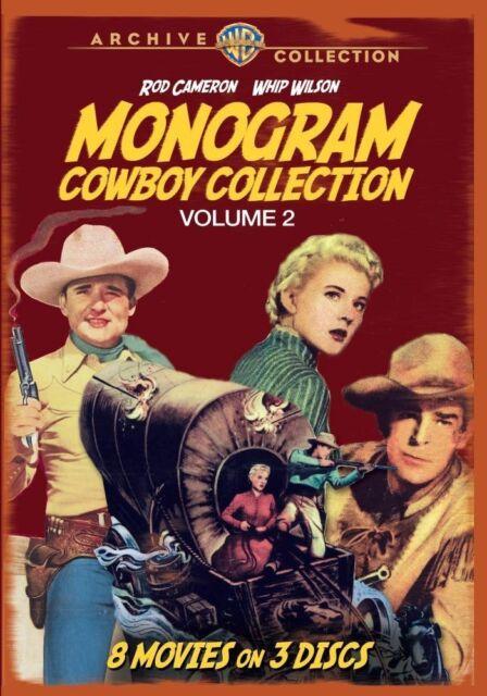 MONOGRAM COWBOY COLLECTION 2 (3PC) - (1952 Rod Cameron) Region Free DVD - Sealed