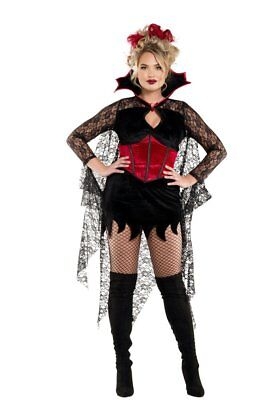 Starline Women's Plus Size Dark Castle Vampire Costume - Vampire Costume Plus Size
