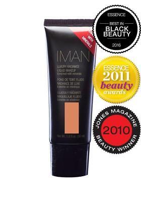 IMAN Luxury Radiance Liquid Make-up 8 Shades NEW