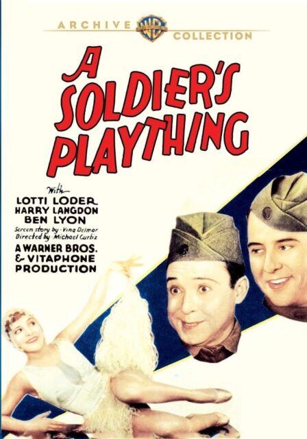 SOLDIER'S PLAYTHING - (1930 Harry Langdon) Region Free DVD - Sealed