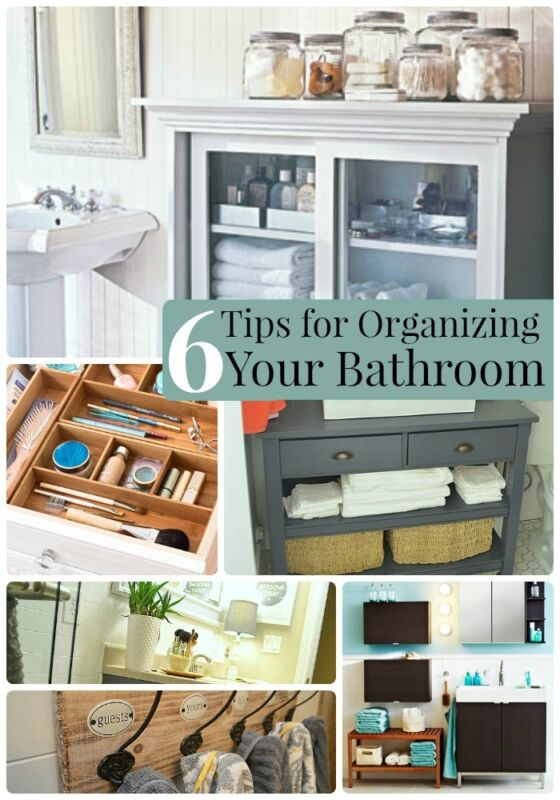 6 Tips For Organizing Your Bathroom Ebay