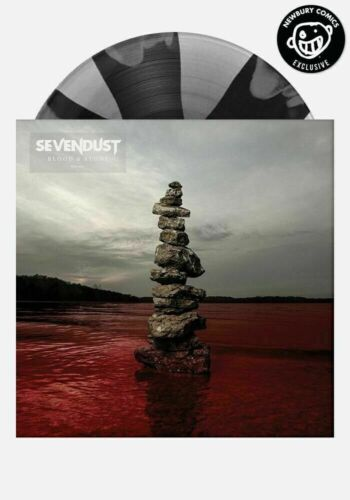 Sevendust - Blood & Stone - Exclusive LP Newbury Comics Pinwheel Colored Vinyl