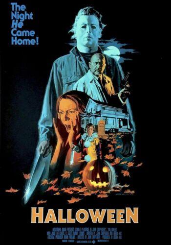 Halloween (1978) - Classic Horror Movie Art Poster - No Frame