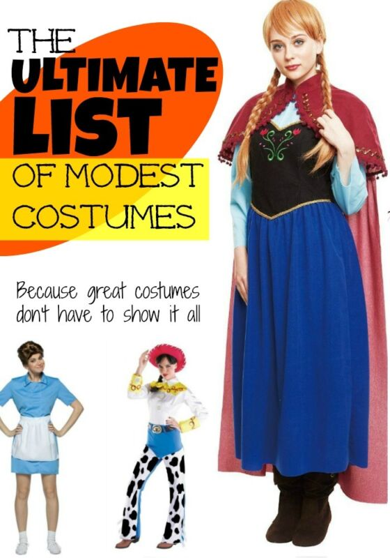 i love this list of cute clever and modest halloween costume ideas so