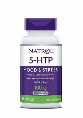 5 Htp 30 Kapseln (NATROL, 5-HTP Stimmung und Stress 100mg 30 Kapseln EXTRAPREIS !!!)