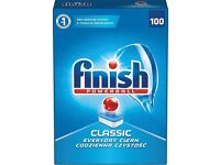 FINISH POWERBALL CLASSIC 100 PACK DISHWASHER TABLETS - LARGE MEGAPACK