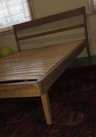 Beautiful, Oak, Double bed