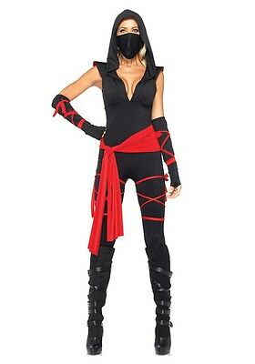 Deadly Ninja Adult Womens Costume](Women Ninja Costume)