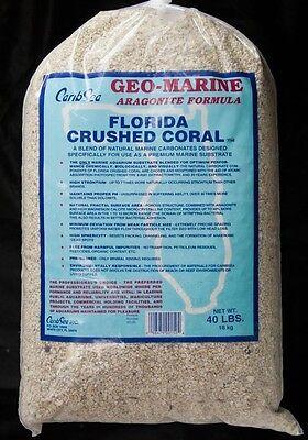 CaribSea Geo-Marine Florida Crushed Coral 40lb Fish Tank African Cichlid