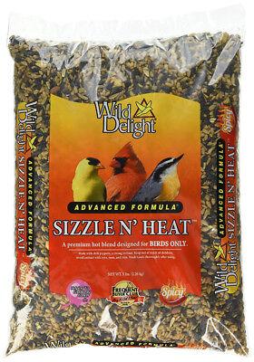 Wild Delight 372050 Sizzle N Heat Premium Bird Food w/ Advanced Formula, 5